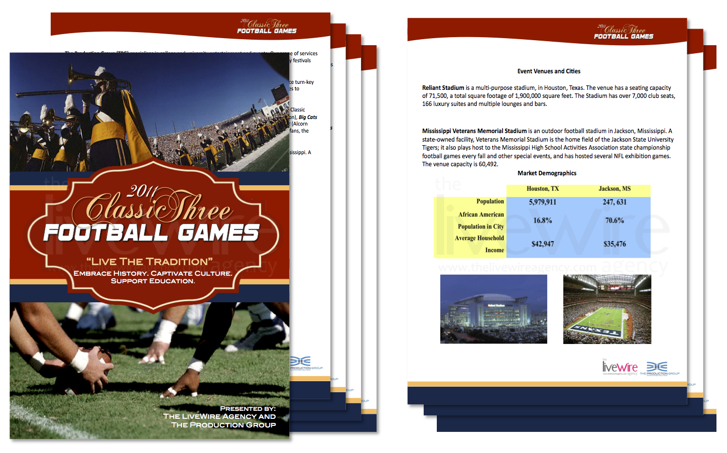Football Classic Sponsorship Deck
