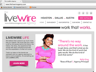 We've relaunched The LiveWire Agency website!