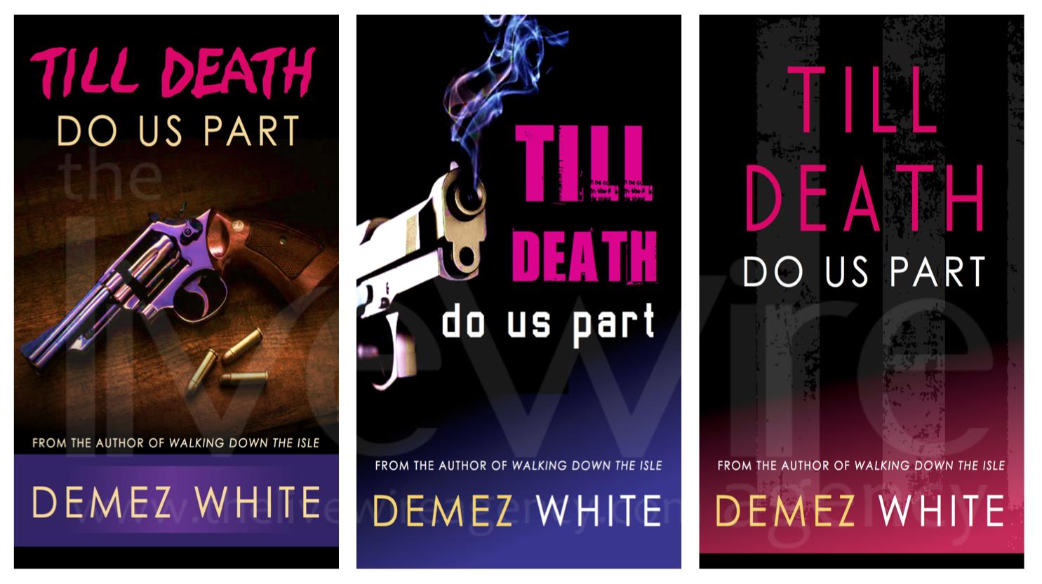Till Death Book Cover Samples