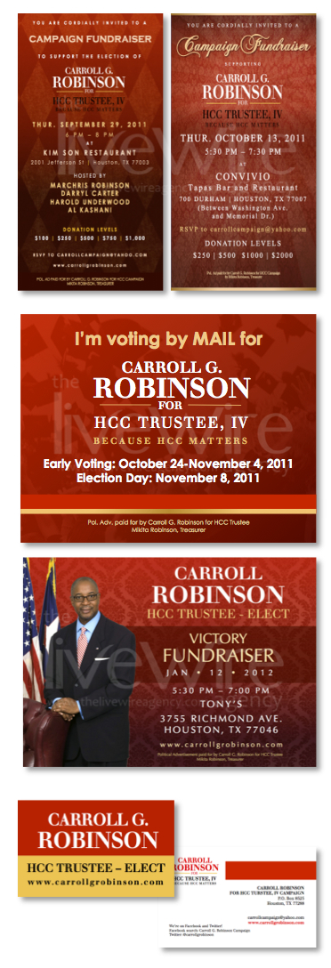 Early Voting Campaign Mailer