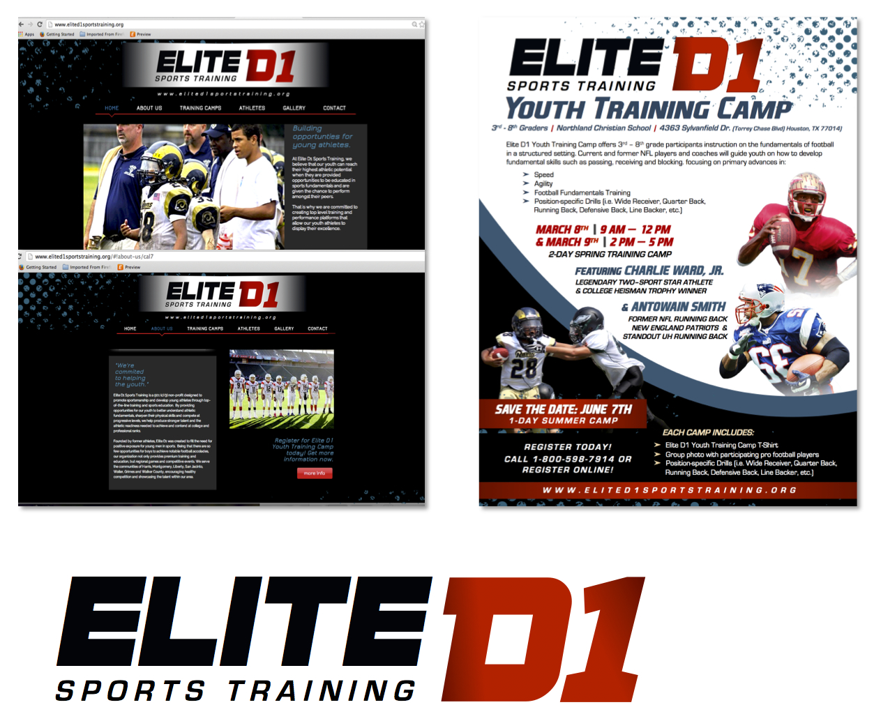 Youth Football Web, Logo & More