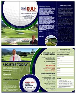 Political Candidate Golf Fundraiser