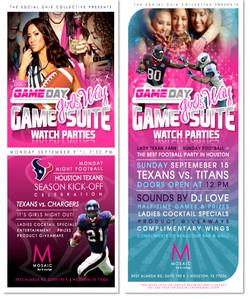 Game Day Girls' Way Flyer Series