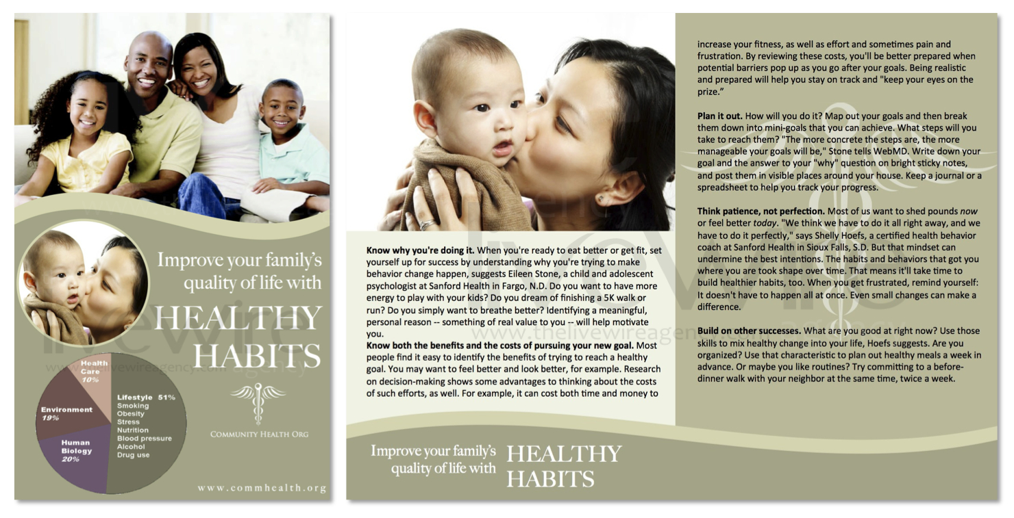 Family Health Brochure