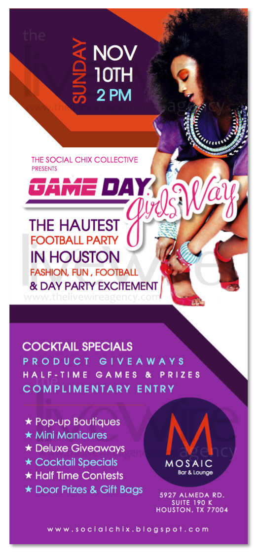 Game Day Girls' Way Flyer