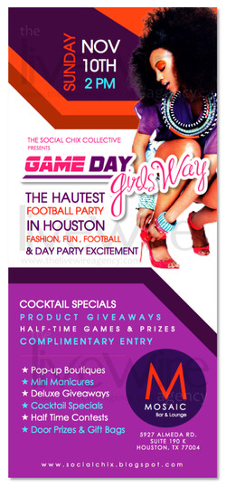 Game Day Girls' Way Flyer
