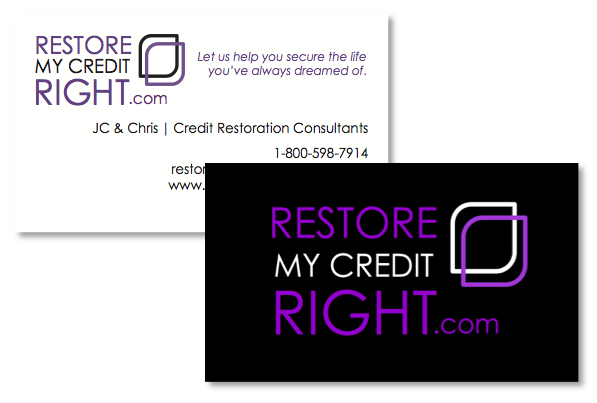 Credit Restoration Business Card