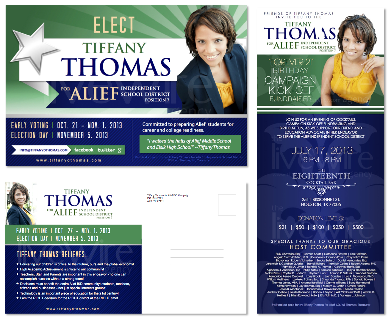 Tiffany Thomas Campaign Marketing