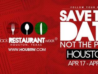 Houston Black Restaurant Week 2017