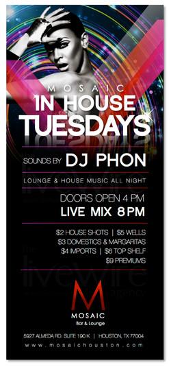House Music Nightlife Flyer