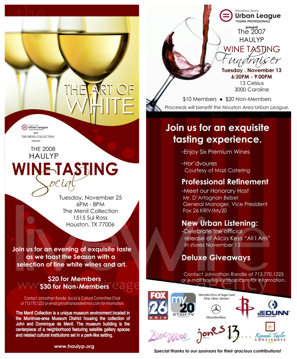 HAULYP Wine Tasting Invitation