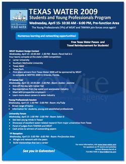 Texas Water Convention Info Program