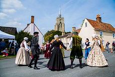 Tudor Dancers
