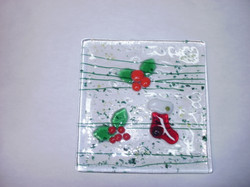 Christmas Square Dish
