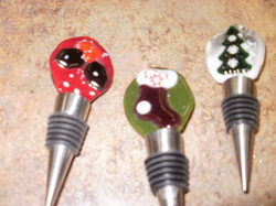 X-Mas Bottle Stoppers