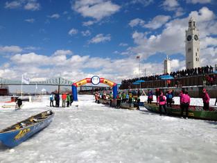 Défi canot à glace de Montréal