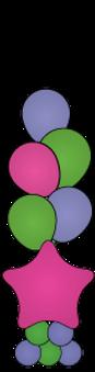 balloon-centerpiece-5-balloon-with-start