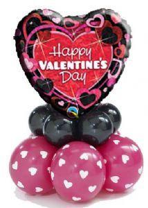 Small Valentine ballooon delivery