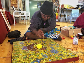 Artists of Ampilatwatja_Rosie Ngwarraye