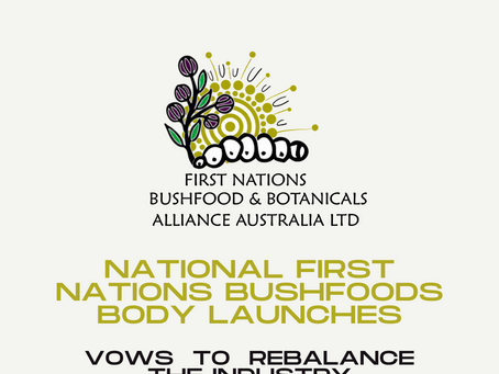National First Nations Bushfoods body launches