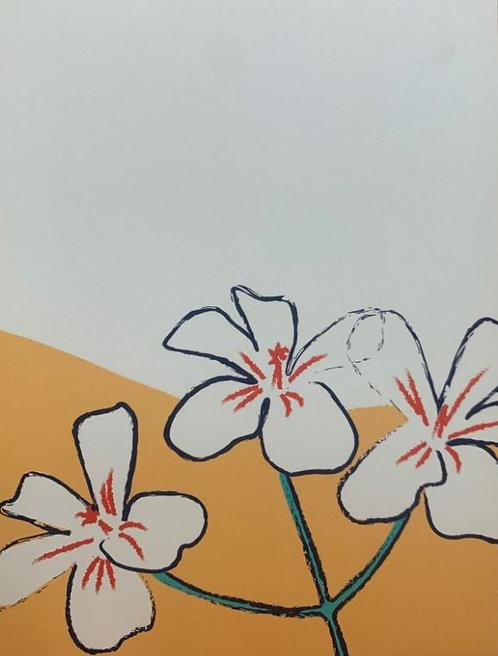 Native geranium gift card