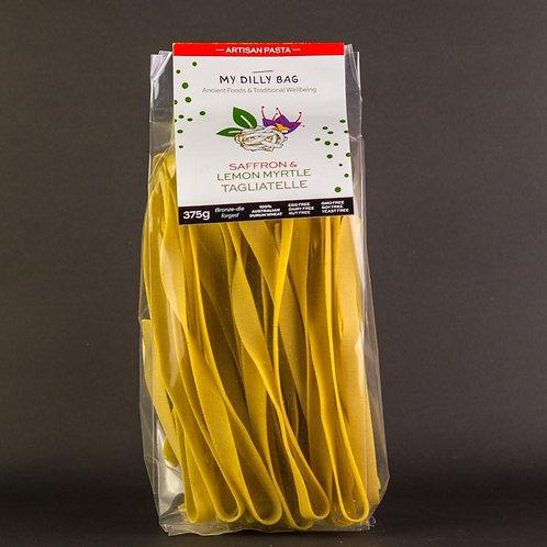 Saffron & Lemon Myrtle Tagliatelle