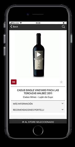 Más de500 etiquetas. Portelli App