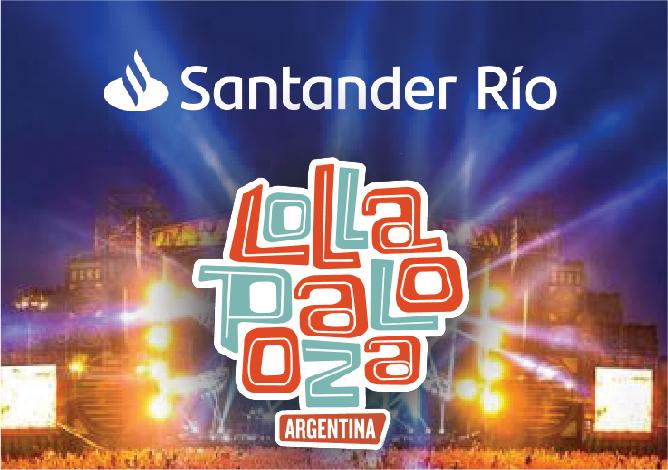 Lollaoalooza Santander Río