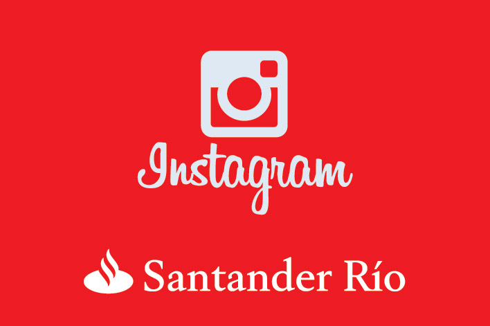 Instagram Santander Río