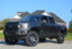 Silver Fade Paint Rocky Ridge Ford F150 Alpine Package