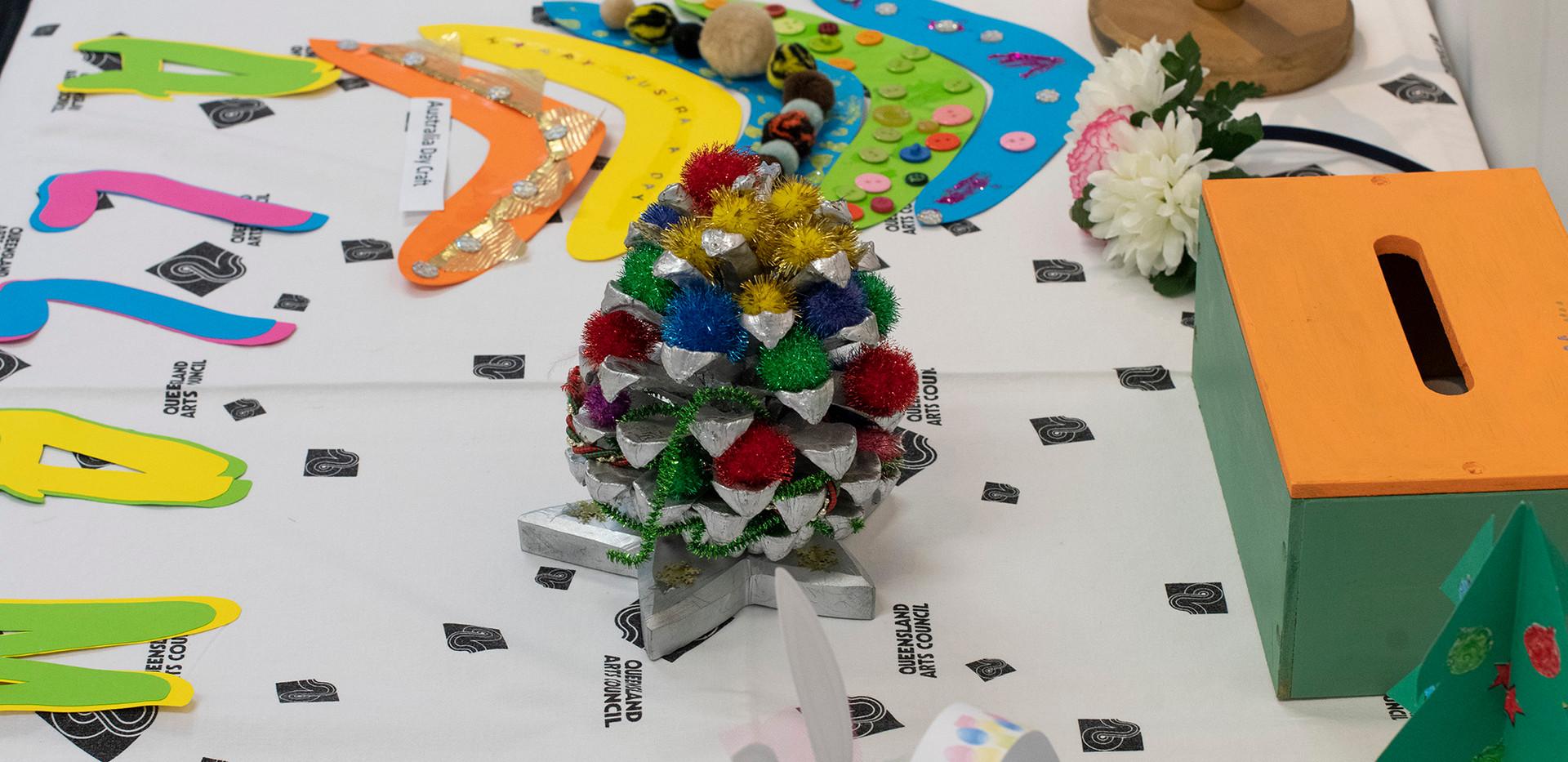 Yallambee Residents' Craft Display
