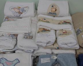Cheryl's baby bathtime items