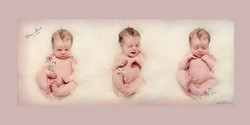 Blue Space Art Baby Photography
