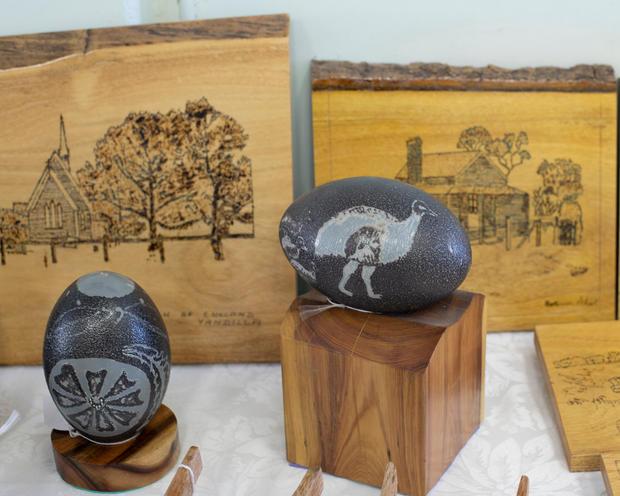 John Staunton's carvings
