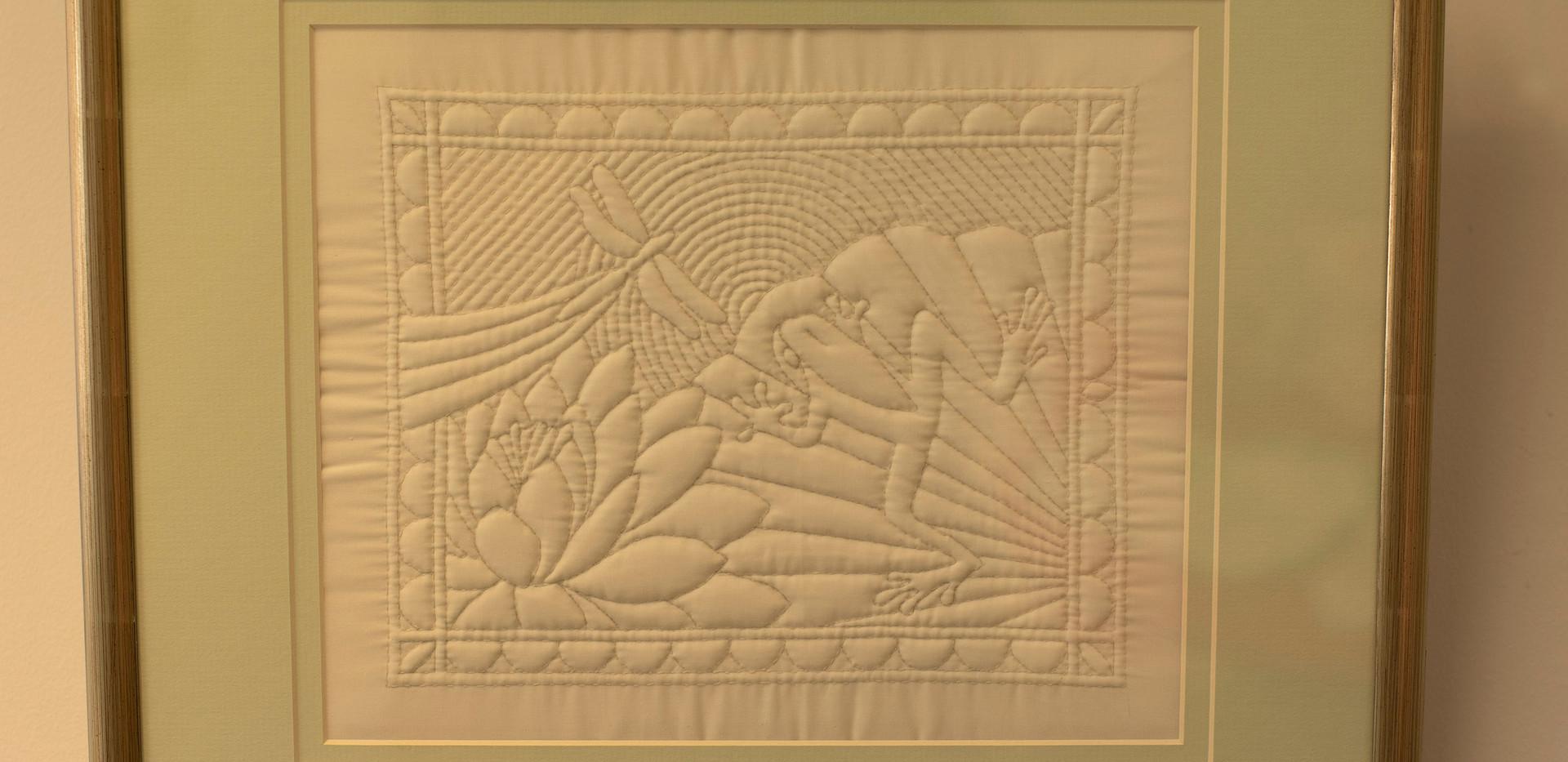 Trapunto Embroidery - Millmerran Arts and Crafts