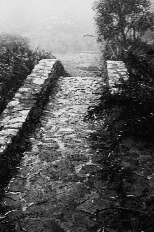 Stone footbridge in Blackheath - 30 x 20 inch