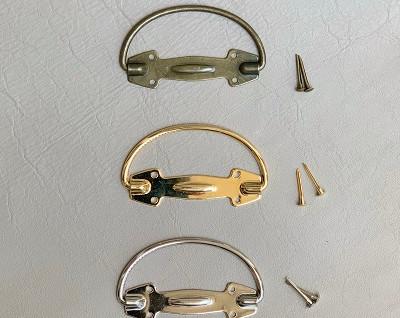 ハンドル金具 金・銀・銅