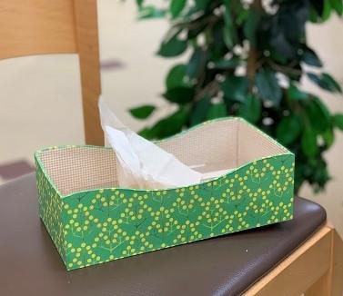 ミモザ 季節にあうデザインでつくる箱