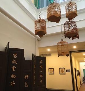 懐かし可愛い プラナカン様式のホテル