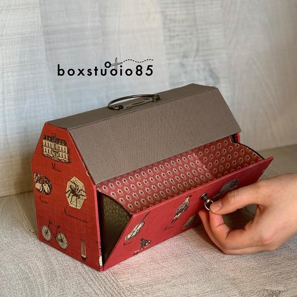マスク収納ボックス