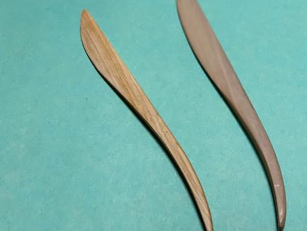 お道具 ~木製のへら~