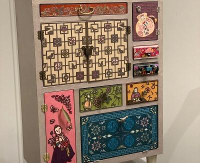 韓紙工芸展とふろしき展