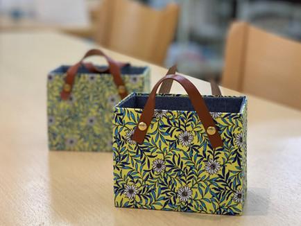 【生徒さん作品】バッグ型の箱