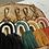 Thumbnail: Extra's - macramé key chain orange rainbow