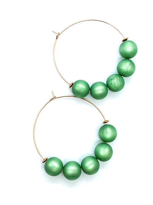 It's rosé - green beads