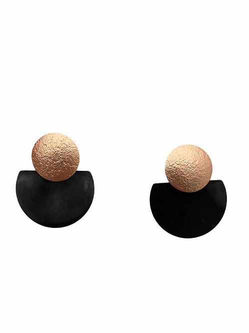 It's black - rosé gold ufo