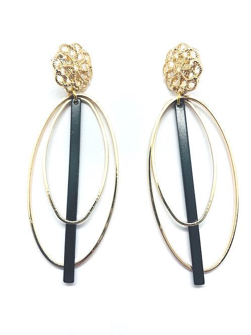 It's gold - sticks & ovals