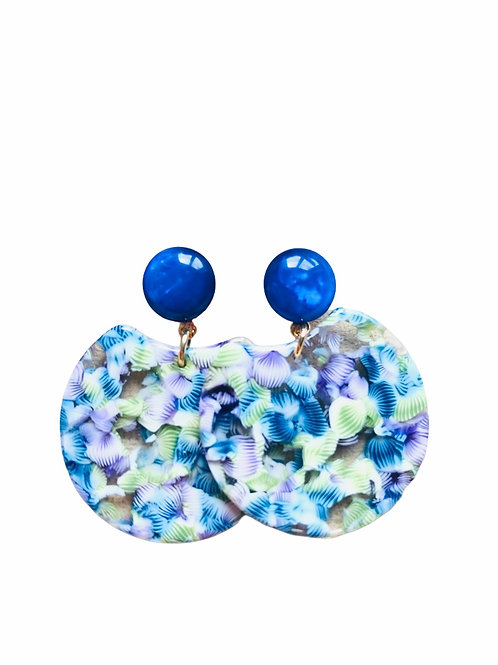 It's resin - blue spring
