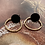 Thumbnail: It's black - gold hoopje
