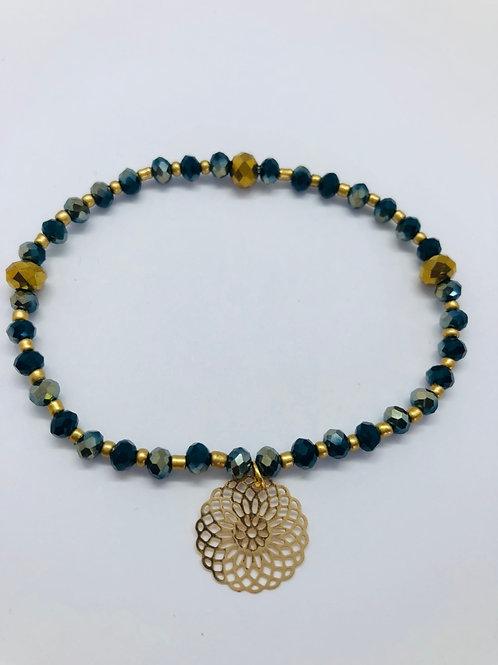Bracel'its - blue & gold
